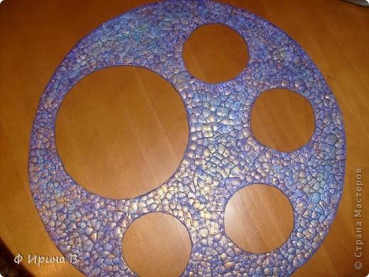 Мастер-класс Мозаика: Рамка-пано, из яичной скорлупы Скорлупа яичная. Фото 9