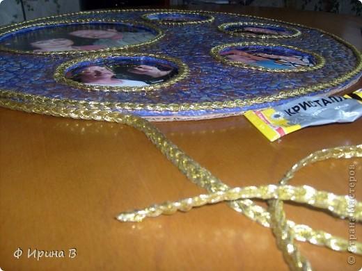 Мастер-класс Мозаика: Рамка-пано, из яичной скорлупы Скорлупа яичная. Фото 11