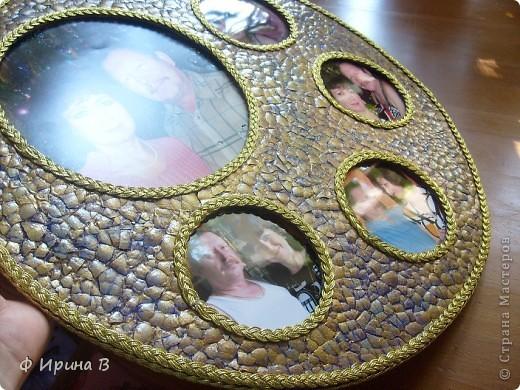 Мастер-класс Мозаика: Рамка-пано, из яичной скорлупы Скорлупа яичная. Фото 1