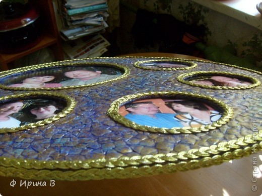Мастер-класс Мозаика: Рамка-пано, из яичной скорлупы Скорлупа яичная. Фото 12
