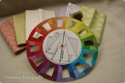 Педагогический опыт Шитьё:  Цветоведение, или как сочетать материалы.. Ткань Начало учебного года. Фото 3