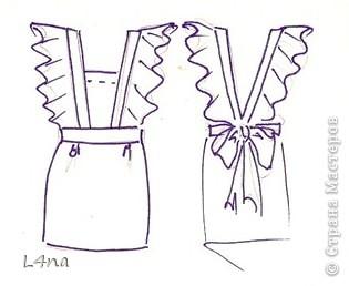 Эскизы платьев школьных