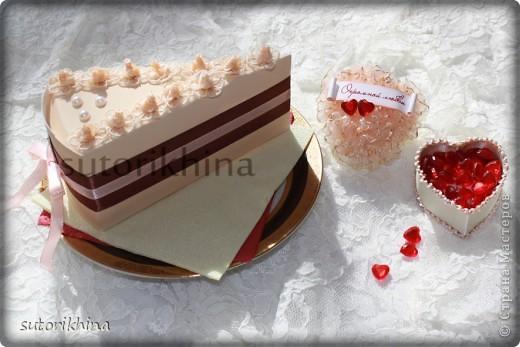 Мастер-класс Ассамбляж: Свадебный торт с пожеланиями Свадьба. Фото 1