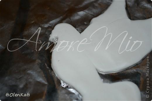 Мастер-класс, Поделка, изделие Лепка: Мой обещанный МК по Голубям Пластика Свадьба. Фото 13