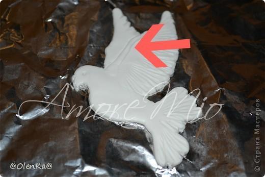 Мастер-класс, Поделка, изделие Лепка: Мой обещанный МК по Голубям Пластика Свадьба. Фото 17