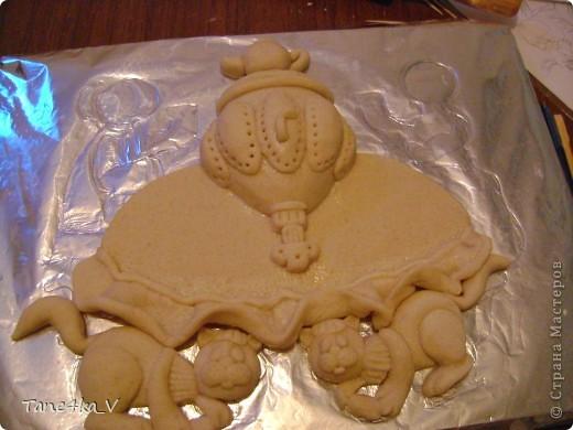 Картина, панно, рисунок, Мастер-класс Лепка: Чаепитие по-татарски!!! + МК (солёное тесто) Тесто соленое. Фото 12