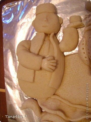Картина, панно, рисунок, Мастер-класс Лепка: Чаепитие по-татарски!!! + МК (солёное тесто) Тесто соленое. Фото 15