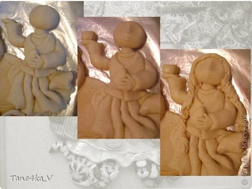 Картина, панно, рисунок, Мастер-класс Лепка: Чаепитие по-татарски!!! + МК (солёное тесто) Тесто соленое. Фото 17