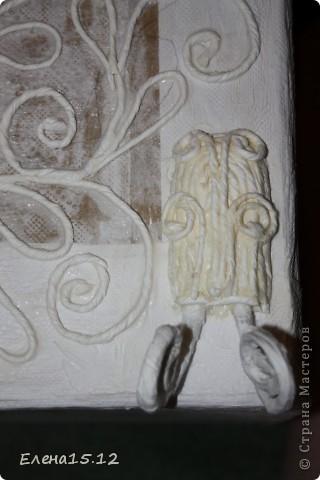 Мастер-класс, Поделка, изделие Аппликация из скрученных жгутиков, Бумагопластика, Квиллинг, Моделирование: Комодик с цветами!+МК часть1 Картон, Коробки, Материал бросовый, Проволока, Салфетки. Фото 26