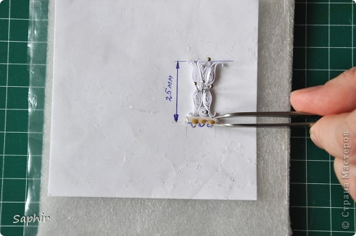 Quilling Clase magistral: UNA VEZ MÁS ... Paso a la tira de papel de la clase asistente paso.  Foto 58