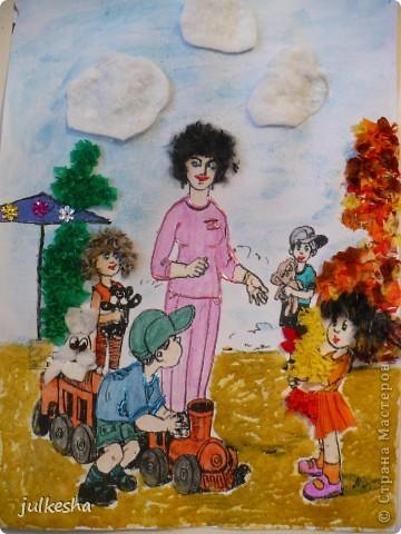 Поделки в детский сад на тему мой детский сад 10