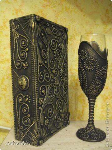 Декор предметов Аппликация из скрученных жгутиков: Пейп-арт  не  отпускает.... Гипс, Салфетки, Фарфор холодный. Фото 7