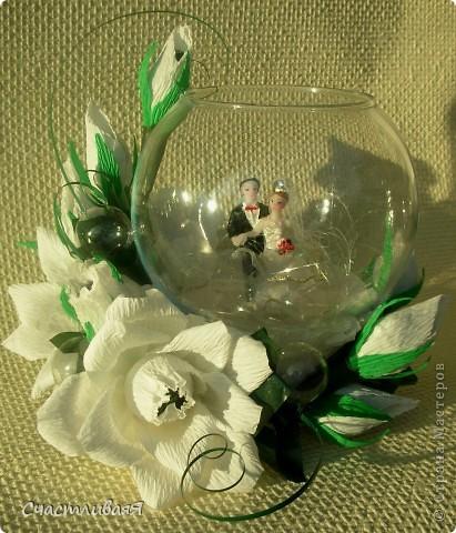 Подарки из гофрированной бумаги на свадьбу 166