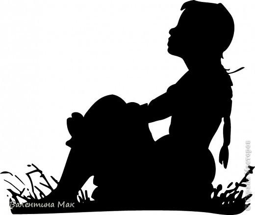 Картина, панно, рисунок, Мастер-класс Аппликация: Плоскостная флористика+силуэтное вырезание. Маленький МК. Бумага бархатная, Материал природный. Фото 10