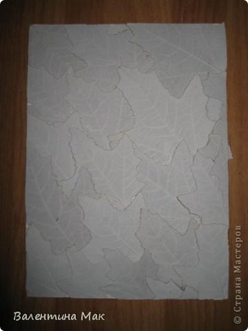Картина, панно, рисунок, Мастер-класс Аппликация: Плоскостная флористика+силуэтное вырезание. Маленький МК. Бумага бархатная, Материал природный. Фото 7