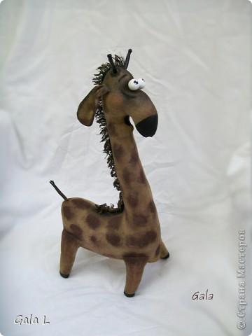 Мастер-класс Шитьё: Трепетный жирафа))) Ткань. Фото 1