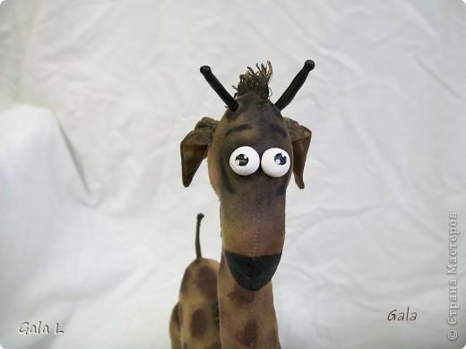 Мастер-класс Шитьё: Трепетный жирафа))) Ткань. Фото 4