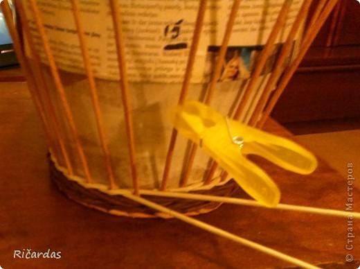 Мастер-класс, Поделка, изделие Плетение: Послойное плетение  Бумага газетная. Фото 3