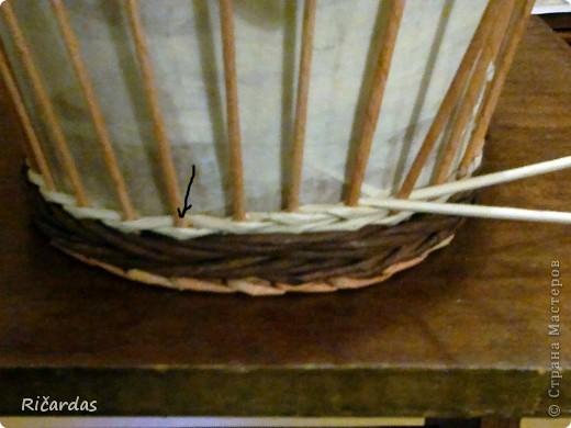Мастер-класс, Поделка, изделие Плетение: Послойное плетение  Бумага газетная. Фото 4