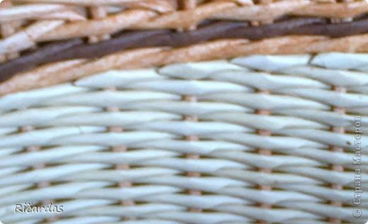 Мастер-класс, Поделка, изделие Плетение: Послойное плетение  Бумага газетная. Фото 27