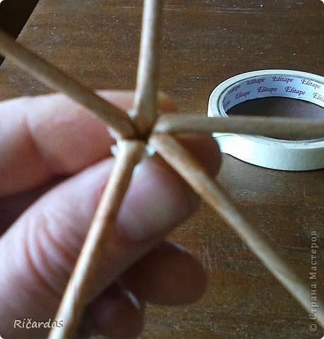 Мастер-класс, Поделка, изделие Плетение: Послойное плетение  Бумага газетная. Фото 29