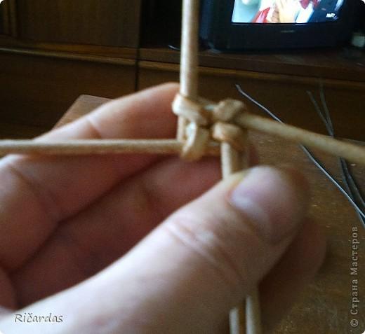 Мастер-класс, Поделка, изделие Плетение: Послойное плетение  Бумага газетная. Фото 34