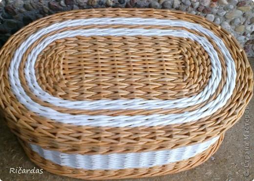 Мастер-класс, Поделка, изделие Плетение: Послойное плетение  Бумага газетная. Фото 40