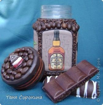 Декор предметов Декупаж: Кофе с шоколадом Продукты пищевые. Фото 4