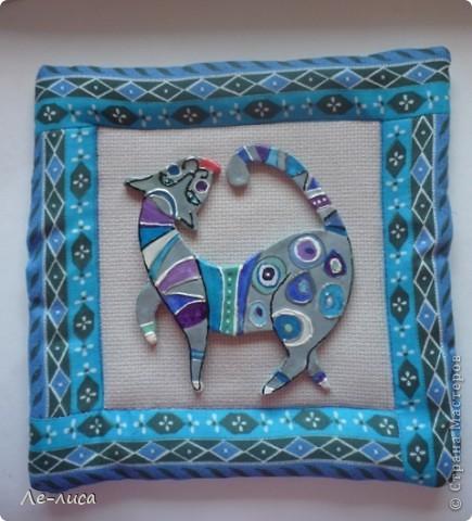 Мастер-класс Лепка: Радужные коты и кошки Тесто соленое. Фото 26