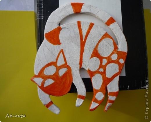 Мастер-класс Лепка: Радужные коты и кошки Тесто соленое. Фото 9