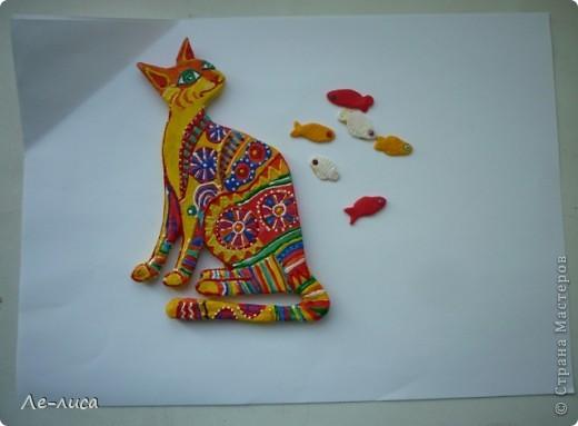 Мастер-класс Лепка: Радужные коты и кошки Тесто соленое. Фото 13