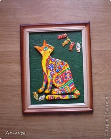 Мастер-класс Лепка: Радужные коты и кошки Тесто соленое. Фото 20