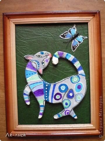 Мастер-класс Лепка: Радужные коты и кошки Тесто соленое. Фото 18