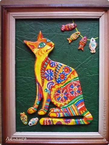 Мастер-класс Лепка: Радужные коты и кошки Тесто соленое. Фото 21