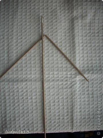 Здравствуйте! Пообещала сфотографировать, как я делаю черешок и листик. Пока есть настроение - выполняю. Все это, конечно, для начинающих.. Фото 10