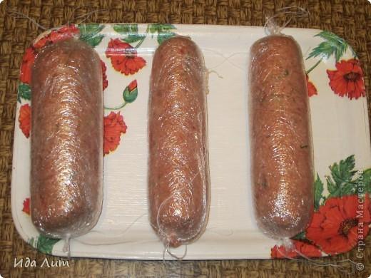 Домашняя вареная колбаса говядины рецепт