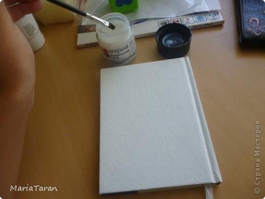 Декор предметов, Мастер-класс Декупаж: Переделываем блокнот(мк) Клей, Краска, Салфетки. Фото 35