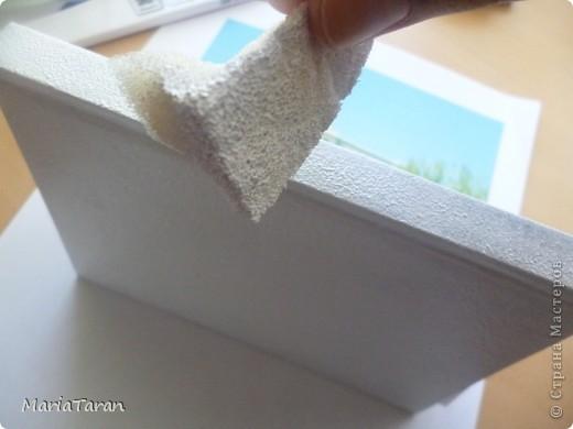 Декор предметов, Мастер-класс Декупаж: Переделываем блокнот(мк) Клей, Краска, Салфетки. Фото 36