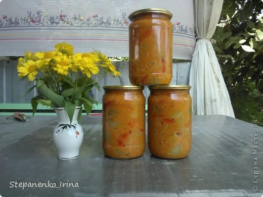 Мастер-класс Рецепт кулинарный: Салат из зелёных помидоров с майонезом (на зиму) Продукты пищевые. Фото 1