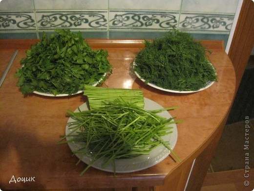 Кулинария, Мастер-класс Рецепт кулинарный: Как я сохраняю зелень (укроп, петрушку) свежей Продукты пищевые Дебют. Фото 3