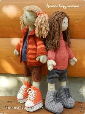 Связать обувь для куклы своими руками