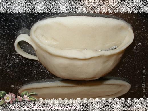 Чашка из соленого теста своими руками