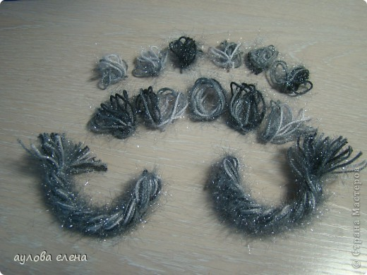 Мастер-класс Шитьё: Змейка, делаем мордочку  Капрон, Проволока Новый год. Фото 40