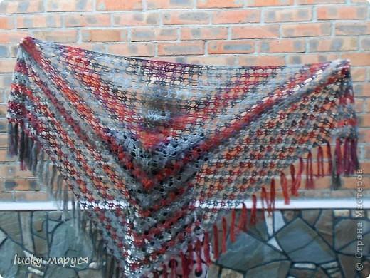 Вязание кардигана спицами из ангоры 40