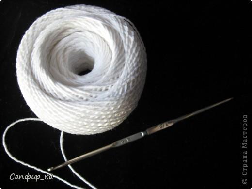 Гардероб, Мастер-класс Вязание крючком: Чепчик (схема + описание) Ленты, Пряжа. Фото 2