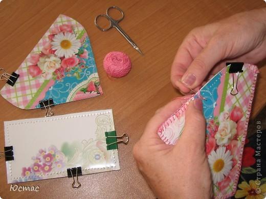 Как обшивать открытки для шкатулок