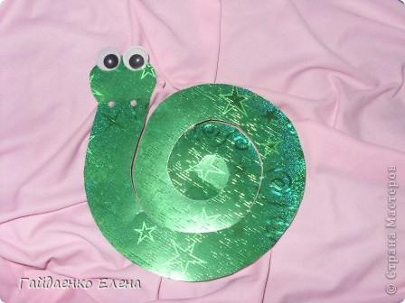 Мастер-класс, Свит-дизайн: Два варианта одной змейки Картон, Ленты, Продукты пищевые Новый год. Фото 5