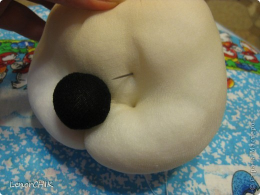 Куклы Шитьё: Как я делаю МЫШКУ, мини-МК Капрон. Фото 28