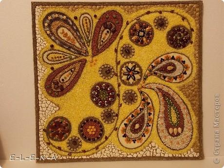 Картины из семян и косточек своими руками