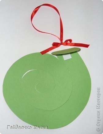 Мастер-класс, Свит-дизайн: Два варианта одной змейки Картон, Ленты, Продукты пищевые Новый год. Фото 14